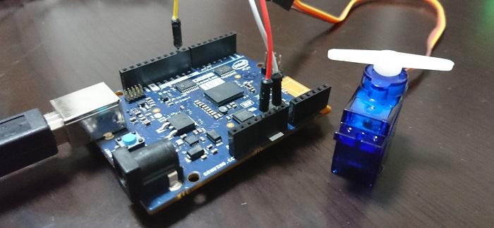 Arduino&サーボ