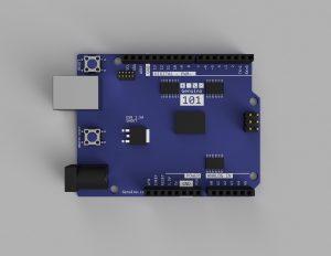 Arduino101 3Dモデル