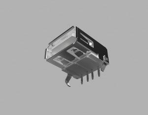 USBコネクター 3Dモデル
