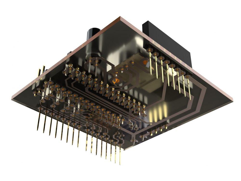 arduino sheild 3Dモデル