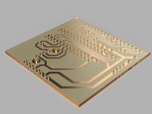 自作基板(3DCADモデル)