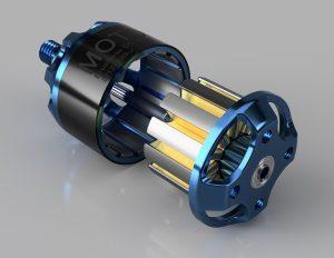 ブラシレスモーター 分解 3Dモデル
