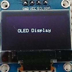 OLED テスト表示